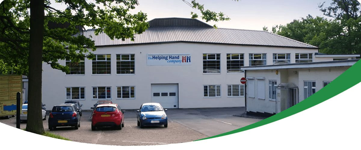 Helping Hand Factory Banner